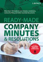 Ready-Made-Company-Minutes---Resolutions---Main