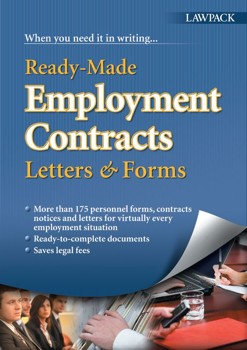 Ready-Made Employment Contracts, Letters & Forms