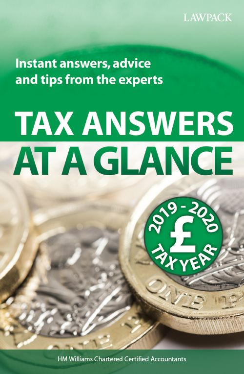 Tax Answers at a Glance 2019/2020