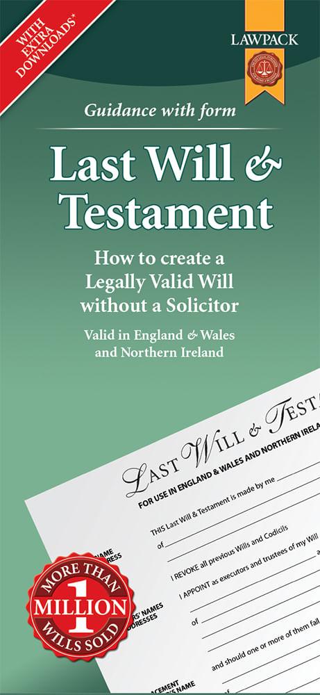 Last Will & Testament Standard Pack