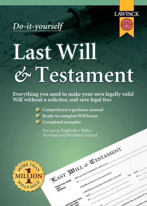 Last Will & Testament Superior Kit