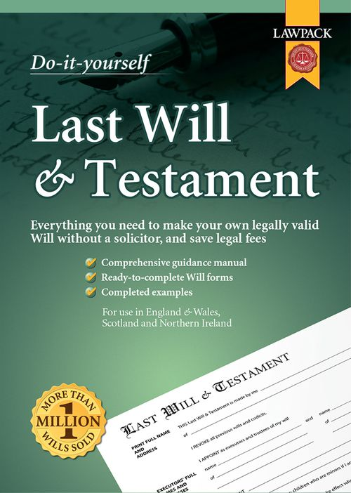 Last Will & Testament Superior Kit