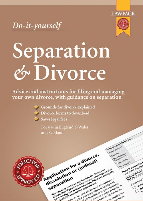Separation and DIY Divorce