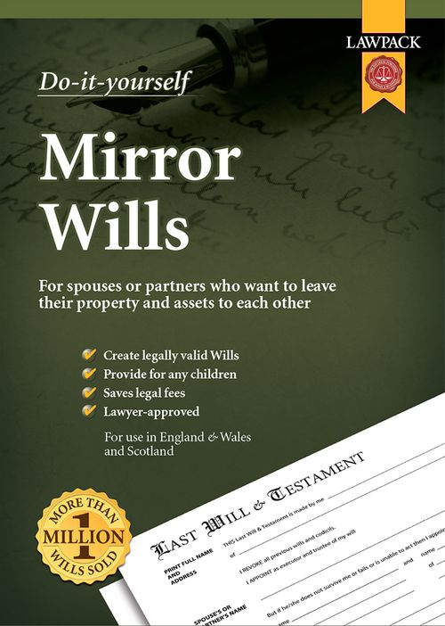 Mirror Wills for Couples, Partners, Spouses