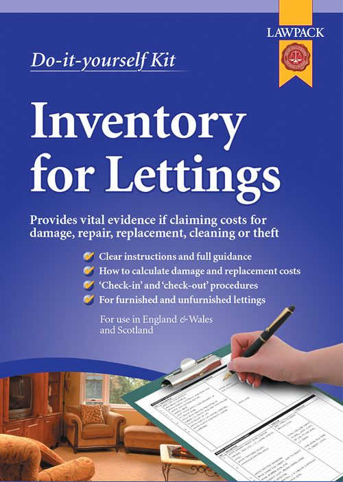 Inventory for Lettings