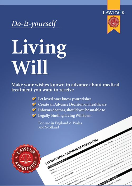 Living Will - Advanced Decision about Medical Care