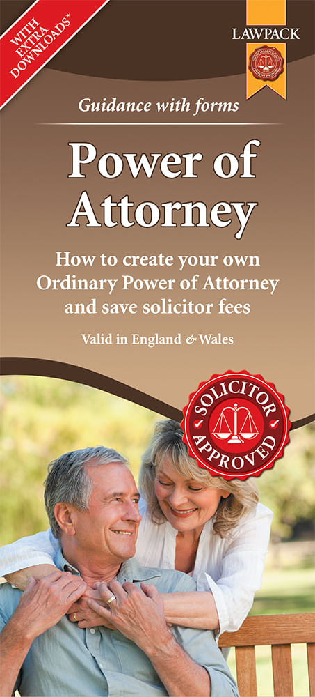 Power of Attorney Form Pack