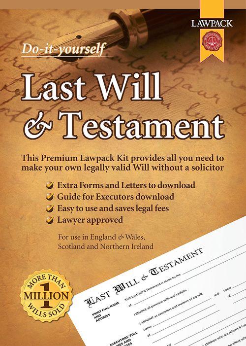 Last Will & Testament Premium Kit