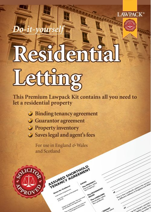 Residential Letting - Premium Kit