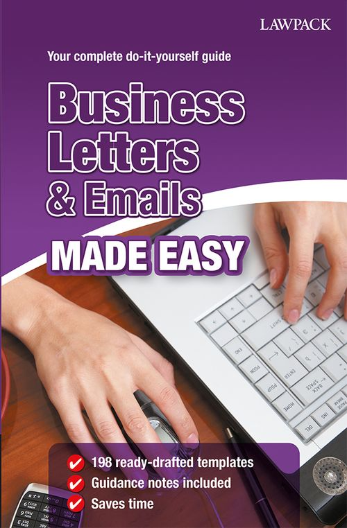 Business Letters & Emails Made Easy- Book & eBook